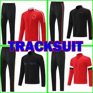 2021 2022 AJAX Bob Marley Tracksuit SOCCER JERSEY jacket pants Manchester United training suit survetement de foot chandal Football jogging sweater men uniforms