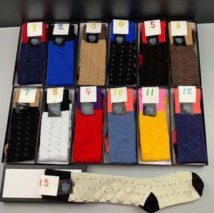 New sport socks Nesign Cotton Couple luxury designer Hot Athletic Socks for womens Fashion Cotton letters print 2021 splice breathable sock
