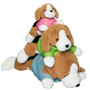 Riesige große Umarmung Lebensleine Speakle Dog Plüsch Spielzeug Kissen Gefüllte Hunde Hund Echt Hund Berührung Gefühl Wurfkissen Geburtstagsgeschenk Für Boy Q0113