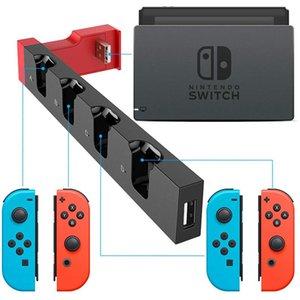 Caricabatterie antipolvere Stazione di ricarica Piccola PG-9186 Carrying Decor per Switch Joy Game con controller di gioco