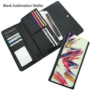 PU Blank Sublimation Wallet Leather Purse LHandbag for Hot transfer Printing Leather Case Blank consumables DIY Best Gifts