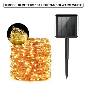 Strings 300 LED Solar Light Outdoor Waterproof Fairy Garland String Lights Christmas Party Garden Lamp Decoration 5 10 20 30M
