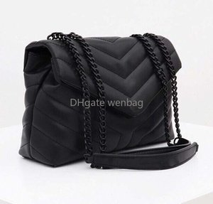 Дизайнерские сумки LOLOU Y-образный стеганый реальная кожаные женские сумки цепь цепь сумка на плечо высокой качественной клапанской сумкой несколько цветов для ча