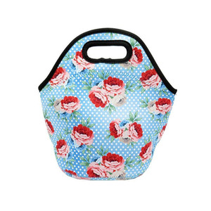 4pcs lot Free Shipping Sublimation Blank Diving Lunch Bag For Students Both Sides Heat Transfer Printing Diy Blank Con qylQKo