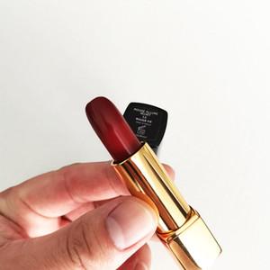 Горячая распродажа бренд матовая помада высокого качества макияж пресс помада черная труба обнаженная помада косметика бесплатная доставка