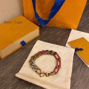 Europa américa moda jóias conjuntos senhora mulheres oca out v iniciais para sempre jovem colar bracelete conjuntos 02