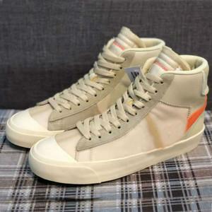 Blazers Meados 77 Vintage Branco Luz Preta Luz Roxa Laranja Tenha um bom jogo Skate Show Mulheres Homens Outdoor Sports Sneakers