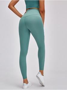 """Hisimple 2021 Super Alta Ascensão Fitness Athletic Legging Yoga Calças Mulheres Mulheres Nuas Macias Nake-sensação Ginásio Esporte Legging Inseream 24 """""""