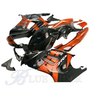 Motorcycle for HONDA CBR 600 F3 fairings 1997 1998 CBR600 F3 97 98 brown black fairing kit + Tank cover bodyworks