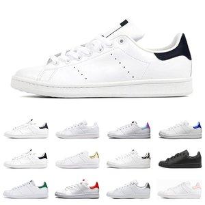 2021 Stan Smith shoes Schmied Männer Frauen Schuhe flache Turnschuhe grün schwarz weiß marineblau Oreo Regenbogen Mode Herren Trainer Outdoor-Sportschuhe Größe 36-44