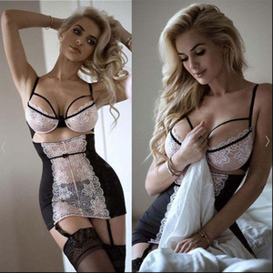 Womens Sexy Lingerie Erotic underwear G string Lace Lingerie Sexy Hot Erotic Babydoll Sleepwear Sexy Underwear Plus Size Dress