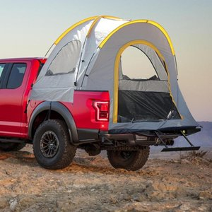 5.5ft Truck Tent Compact Truck Camping Tent Easy-to-Set with Privacy Shades Suitable for Traveling Outdoor Accessories