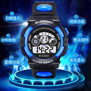 Children's electronic watch boy's life waterproof luminous night light boys girls primary and secondary school students multifunctional3
