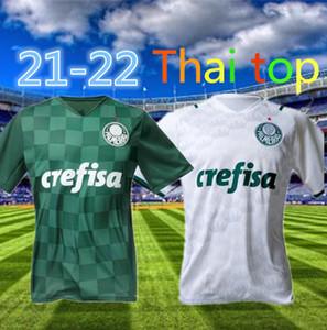 Novo 21 21 22 Palmeiras Futebol Jersey G.gomez G.Veron L.adriano Ramires Dudu Camisas 2021 2022 Libertadores Finais Homens Mulheres Casa Futebol Camisa