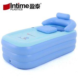 Plegable portátil adulto inflable mantiene una bañera caliente infantil inflable piscina y bañera