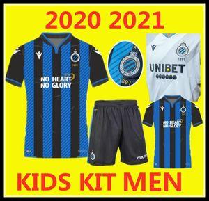 Männer Kids Kit 20/22 Club Brugge KV Football Uniform Kleidung 2020 2021Belgium Brügge Kind Jugend Fussball Jersey Scheut Vormaken Diatta