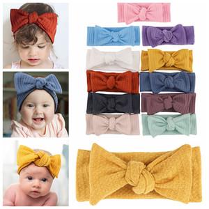 11 Colors Baby Girls Hair Bands Headbands Kids Headwrap Elasticity Bowknot Bandanas Newborn Headress children Hair Accessories Z2452