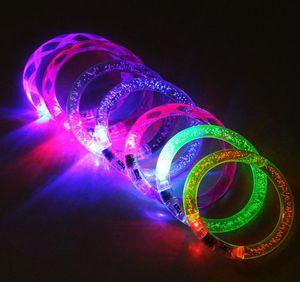 2021 Children's Toys Wholesale LED Lighted Luminous Bracelet Concert Performance Props Bubble Flash Beads And Bubbles Interactive