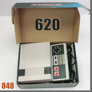 848D New Arrival Mini TV can store 620 500 Game Console Video Handheld for NES games consoles with retail boxs dhl