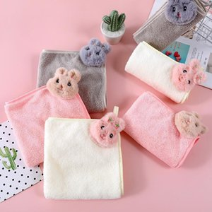 Xinshang new product net red crystal veet cartoon rabbit gift box towel kitchen toilet cloth absorbent soft