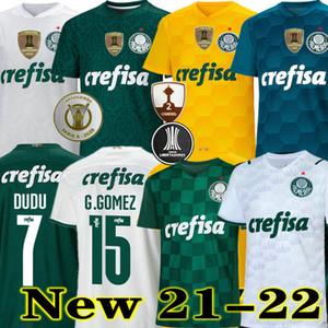 Top Quality 21 22 Palmeiras Jersey de football Home Green Dudo G.Jesus Jean Alecsandro 2021 Palmeiras Away ALLIONE CLEITON Xavier Football Shirts