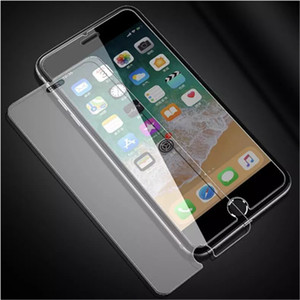 100pcs lot 9H Screen Protector Tempered Glass For iPhone 6 6S 7 8 11 Pro XR XS Max Toughened Glas For iPhone 8 7 6 6S Plus Flim