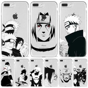 Relief Anime Naruto Uzumaki Sasuke kakashi Case Cover Soft Cartoon Phone Case For iPhone SE2020 7 8 Plus XS XR 12 11 Pro Max
