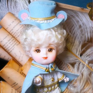 Dream Fairy 1 12 BJD toy DODO doll animal suit shoes 14cm mini doll joint body ob11 Cute children gift F1216