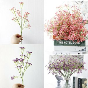 Gypsophila Bouquet Small Stars Dried Flowers Floral Bouquet Natural Plants DIY Crafts Wedding Room Decoration Home Decoration