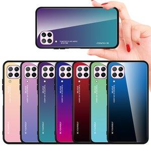 Закаленный стекло для Huawei P40 Lite P20 P30 Pro Mate 20 Lite Y6 Y7 P Smart 2019 Обложка на честь 20 8x 8A 10i 10 Lite 9x