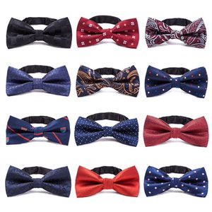 Multicolor Bow Tie kid Bowtie Formal Gentleman bowknot Star Check Polka Dot Stripes Accessories Baby Supplies ZWL119