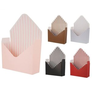 12 Pcs Envelope Fold Flower Box Paper Floral Wrapping Party Wedding Gift Boxes