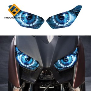 For Yamaha Xmax 300 Xmax 250 2017 2018 Motorcycle accessories headlight protection sticker headlight sticker