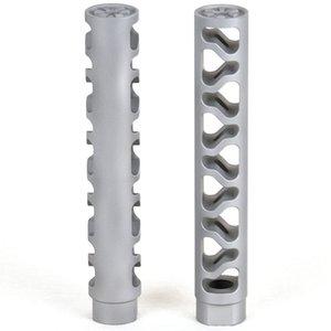 Beststainless дюймовая древесина стальной компенсатор морда тормоза для X ниток
