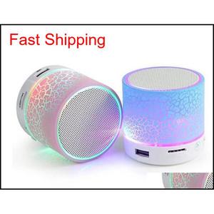 بلوتوث المتكلم اللاسلكي المتكلم LED A9 مضخم صوت ستيريو مركبتي لاعب لسامسونج أندرويد الهاتف IJC4Q HFPSB