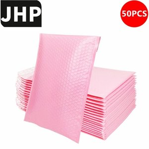 Packing Bags 50PCS Small Size Shockproof Padded Mailing Bag For 3C Products Sending,Blue Pink Color Self Sealing Bubble Mailer Envelopes