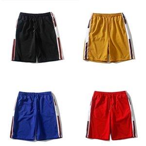 Hombre activo shorts moda patrón de moda pantalones deportivos cordones trackpants verano nuevo pantalones cortos 2021 de alta calidad 4 colores Tamaño asiático