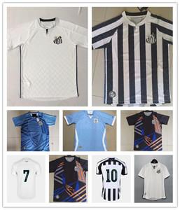 Männer 2020 Santos FC Futebol Clube Soserys 20 Santos Camisetas Cuevr Dodo Rorrygo Sasha weg fußball Hemd Kit MAILLOT FIND SIMILA