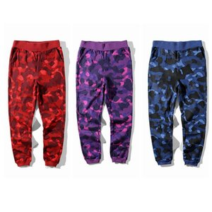 Causal Mens Pants Camo Sport Trousers Jogger Jumper Running Pants Camouflage Sweatpants Hip Hop Streetwear Spring Autumn Sportswear JK011