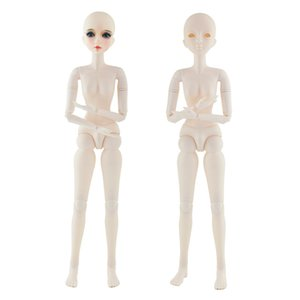 New Arrival 22 Moveable Jointed Dolls 1 3 Bjd Doll 60cm Baby Doll Toys White Skin Nude Doll Body Without Makeup for Girl Toys F1216