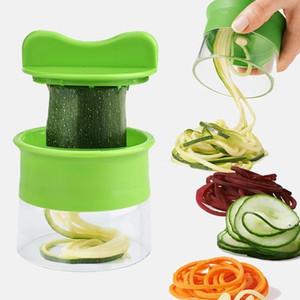 Creative kitchen Spiral Grater Cutter Carrot Potato Cucumber Vegetable Fruit Peeling Shredder Spaghetti Zucchini Blade Spiralizer DHD5391
