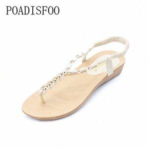 Ltarta frauen s neue sommer böhmischen perlen flache sandalen weibliche zehe römische schuhe 36 40 yards .HYKL 8801 goldschuhe herren casual schuhe von m7da #