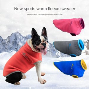 Pet Clothes Dog Clothes dog harness Fleece Puppy Coat Sweater Autumn and Winter Cn(origin) Leisure Thick