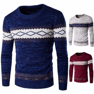 Mens Sweaters Autumn Winter Warm Casual Clothes Hombre Pullover Sweaters Male Clothing Knitted Male Sweaters Plus Size