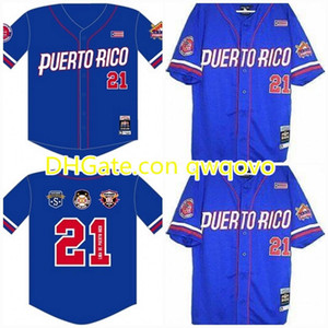 Puerto Rico.Latin Legacy S2 CustomNlbm negro.Ligen Baseball Jersey Stiched Name Stiched Nummer Schneller Versand