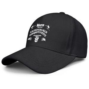 Fashion Danzig Misfits Skull ABCDEFG Design Unisex Baseball Cap Designer Personalized Trucke Hats Large Logo Mens Happy Holidays The Of