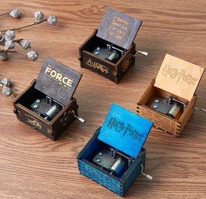 الإبداعية الكلاسيكية خشبية الموسيقى مربع حزب فافو جميع أنواع الصور ingraved اليد تهتز دوافع هاري المخافئ الحلي