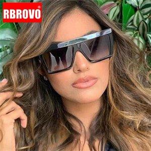 2021 Fashion Large Frame Sunglasses Donne Classic Quadrato Square Retro Specchio Occhiali da sole Uomini Street Beat Lunette de Soleil Femme