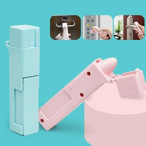 Handles & Pulls No Touch Open Door Instrument Portable Anti Germ Elevator Button Drawer Handle Assistant Safety Contactless Tool