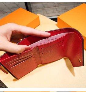 أزياء محافظ بالجملة النساء متعدد الألوان عملة محفظة قصيرة محفظة لون حامل بطاقة مربع الأصلي المرأة الكلاسيكية سستة جيب هولد